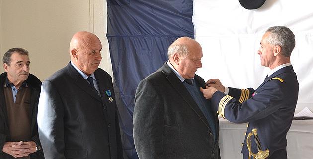 Bastia : La croix de chevalier de l'ordre du Mérite Maritime à Joseph Torre