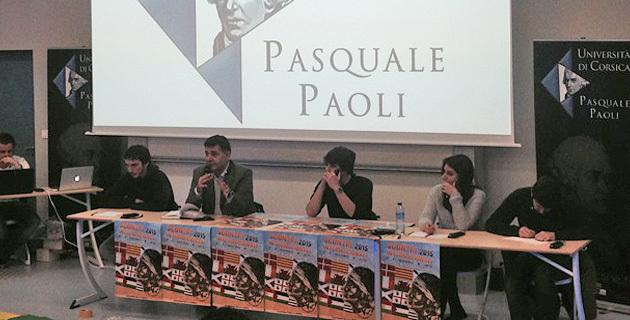 Basques, Kurdes, Catalans et Palestiniens étaient présents à Corte pour cette première journée des Scontri.