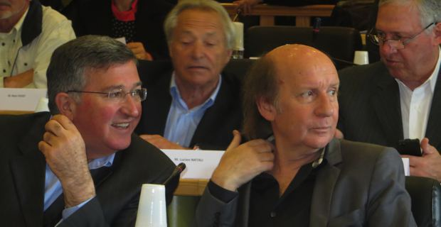 Jean Louis Milani et Jean Joseph Massoni, conseillers municipaux et délégués communautaires, adjoints UMP au maire nationaliste de Bastia, Gilles Simeoni.
