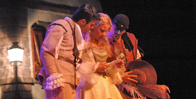"""Cyrano de Bergerac"" au Théâtre de Propriano"