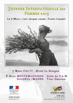 La journée internationale de la femme : La Corse aussi