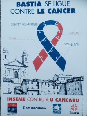 "Bastia : La ville ""se ligue contre le cancer"""
