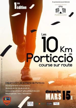"""Le GFCA-Athlétisme organise la 1ère édition des """"10 km de Porticcio"""""""