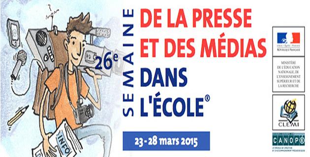 26 ème Semaine de la presse et des médias dans l'école en Corse