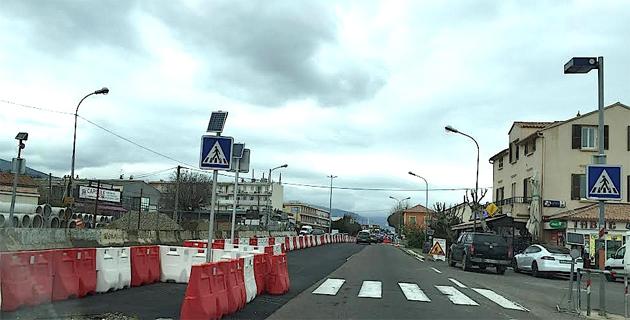 """Carrefour de Casatorra : Un nouveau """"tourne à gauche"""" à l'étude"""