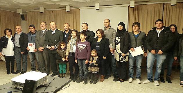 Une récente cérémonie d'accueil dans la citoyenneté française à Bastia