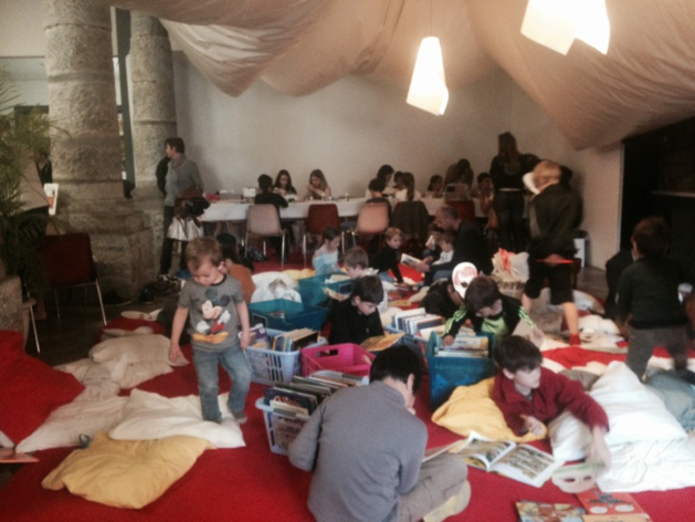 Comme chaque année, un espace est consacré aux enfants