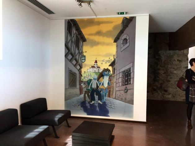 L'exposition Lewis Trondheim au musée d'Art et d'Histoire
