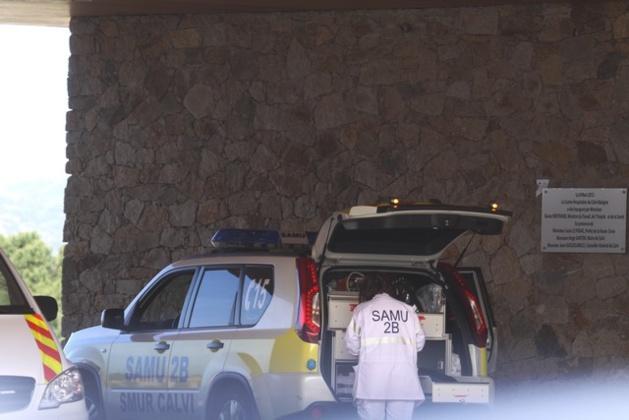 Qu'est-il arrivé à l'homme blessé par balles déposé devant le CH de Calvi ?