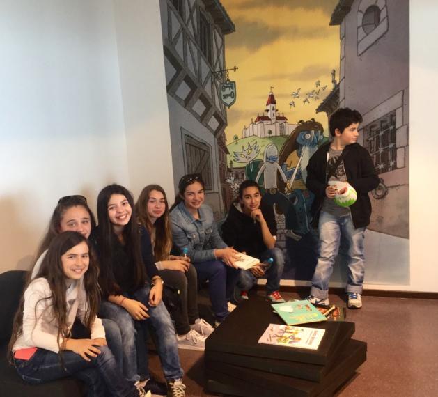 Les enfants de Montegrossu au musée de bastia