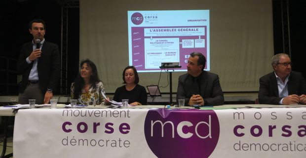 Création du MCD par François Tatti et Marie-Claire Poggi.