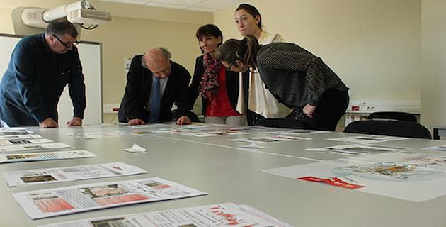 """Les élèves de l'Académie de Corse ont fait leur """"Une"""" pour la semaine de la presse à l'école"""