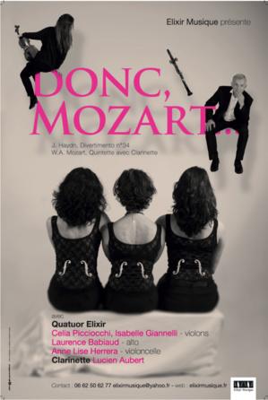 Bastia : Elixir Musique présente « Donc, Mozart ... »