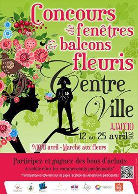 Ajaccio : 2ème concours de fenêtres et balcons fleuris pour fêter le printemps