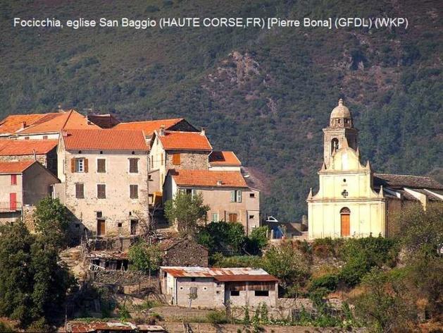 Toponymes en Corse : Baggio/Baghju
