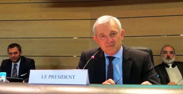 François Orlandi, président du Conseil départemental, conseiller départemental du Cap Corse et maire de Tomino.