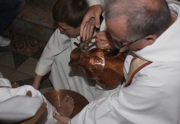 Ghjovi Santu : Lavanda et bénédiction des canistrelli à Calvi