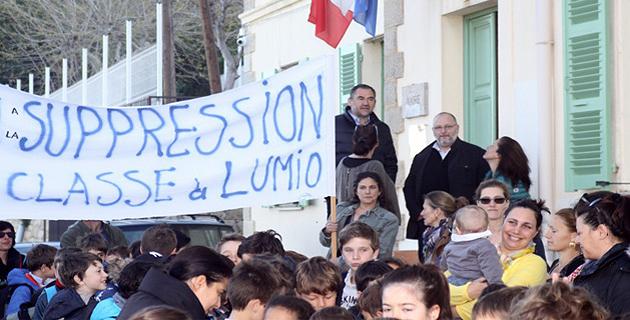 L'académie de Corse renonce à la fermeture d'une classe à Lumio