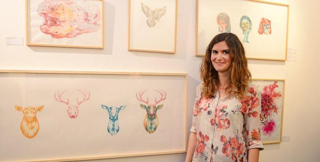 Les dessins de Camille Pozzo di Borgo sont exposés au 59Rivoli