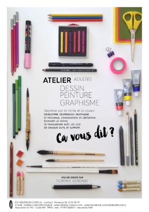 """""""Les ateliers di Corsica"""" : Florence Giordano ouvre des cours de dessin à Cardo"""