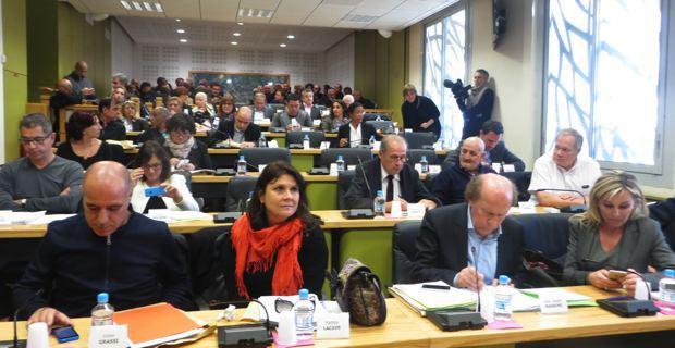 Le Conseil municipal de Bastia en session.