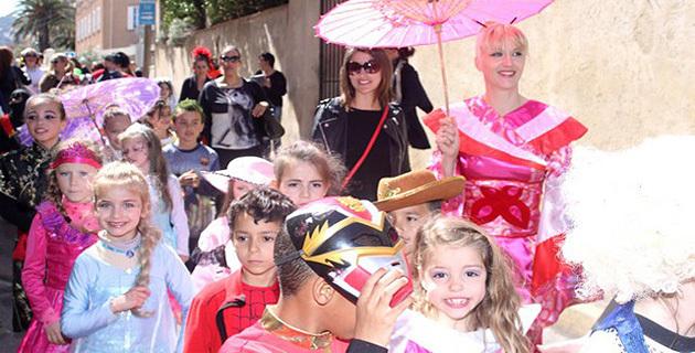 Les écoles de Calvi ont fait leur carnaval