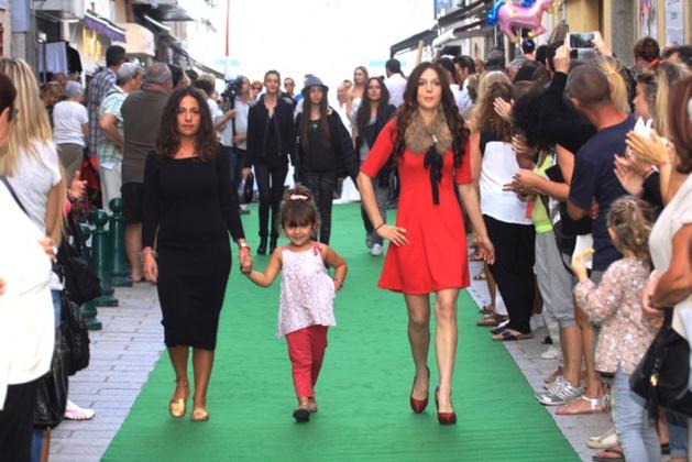 Défilé de mode à L'Ile-Rousse le 18 avril