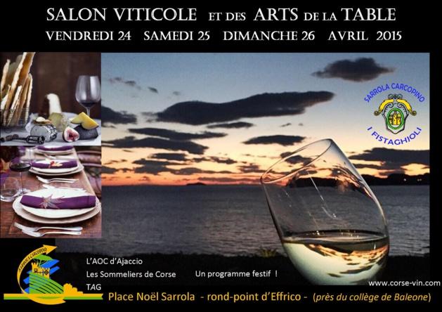 Sarrola-Carcopino : Le Salon viticole et des arts de la table ouvre vendredi