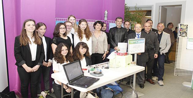 Les élèves du collège de Porticcio, représenteront la Corse à Paris au concours national C.génial