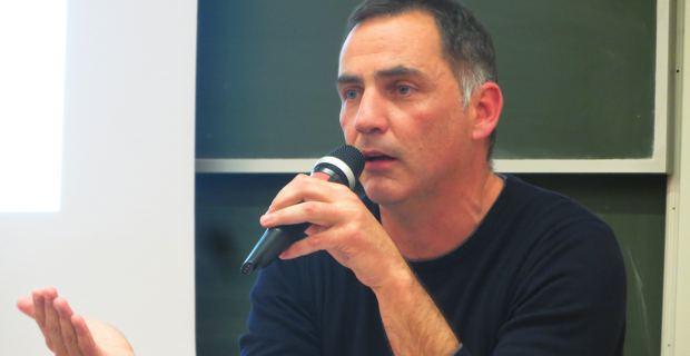 Gilles Simeoni, leader d'Inseme per a Corsica et d'Inseme per Bastia, conseiller territorial Femu a Corsica et maire de Bastia.