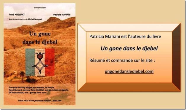 """Patricia Mariani : """" Un gône dans le djebel """""""