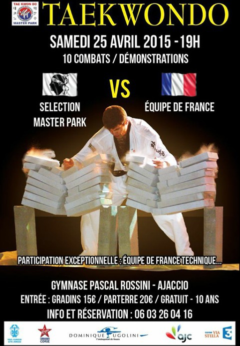 Soirée Taekwondo Master Park 2A Pascal Rossini