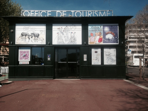 "Bastia : Plantu expose ""Cartooning for Peace"" à l'office de Tourisme"