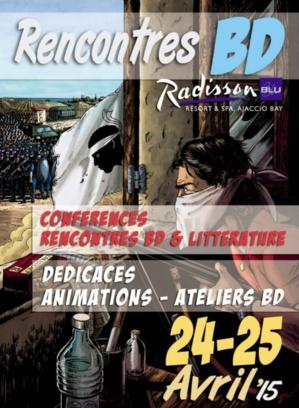 L'histoire et les bande dessinées corses à l'honneur au Radisson les 24 et 25 avril prochains