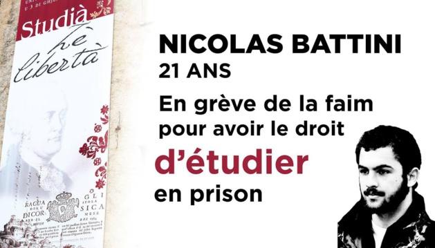 Bastia : Une conférence sur la situation de Nicolas Battini