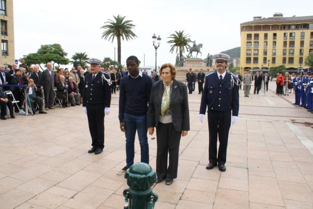 Ajaccio a célébré le 70ème anniversaire de la libération des camps