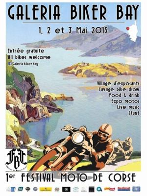 "De prestigieux invités au ""Galeria Biker Bay"" du 1er au 3 mai"