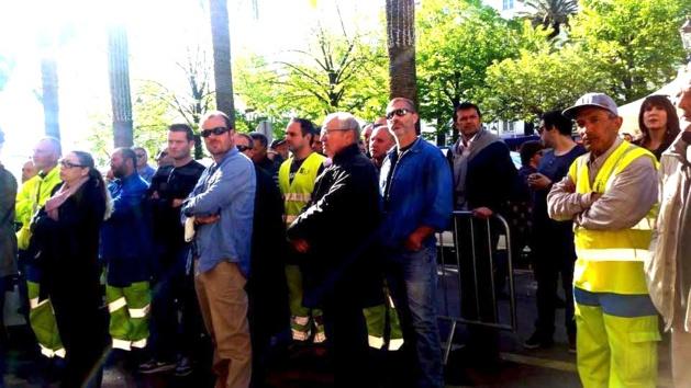Ajaccio : 200 personnes au rassemblement de soutien à la directrice du CTM