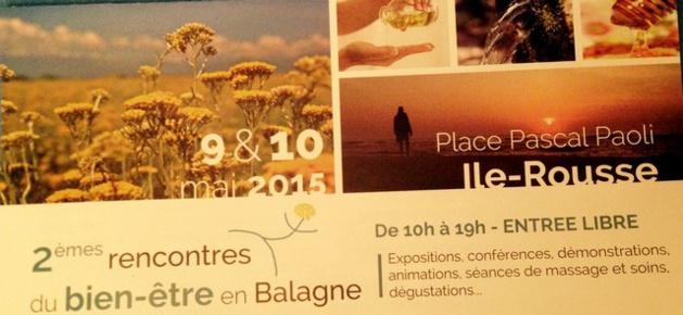 2èmes Rencontres du Bien-être à L'Ile-Rousse les 9 et 10 Mai