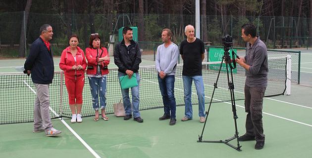 Deux courts municipaux de tennis régénérés à Calvi