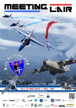 Grand meeting aérien de la BA 126 de Ventiseri-Solenzara les 30 et 31 mai