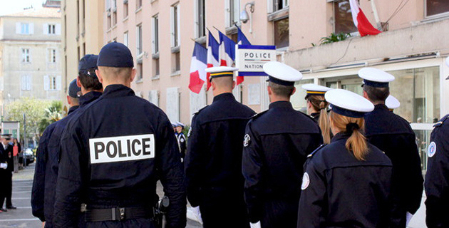 Ajaccio : Un hommage rendu aux policiers morts pour la France