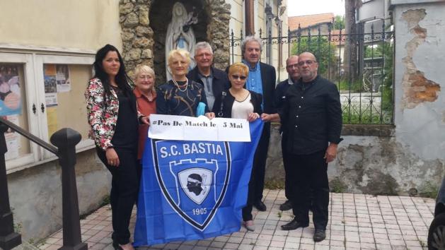 Amicizia Corsa de Vallauris-Golfe Juan : Hommage aux victimes du 5 Mai