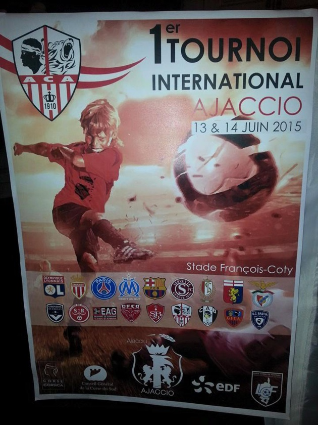 Football : L'AC Ajaccio organise le 1er tournoi international U11 en Corse