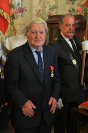 Don Jacques Canonicci, Toussaint Landucci et Jean Orsatti  chevaliers de la Légion d'Honneur