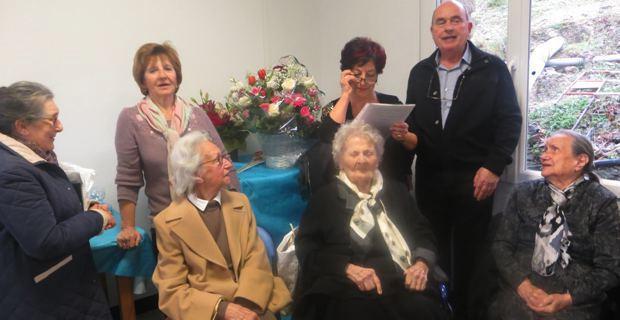 L'hommage du village de Pieve et du maire Jacky Linale à Marie-Rose.