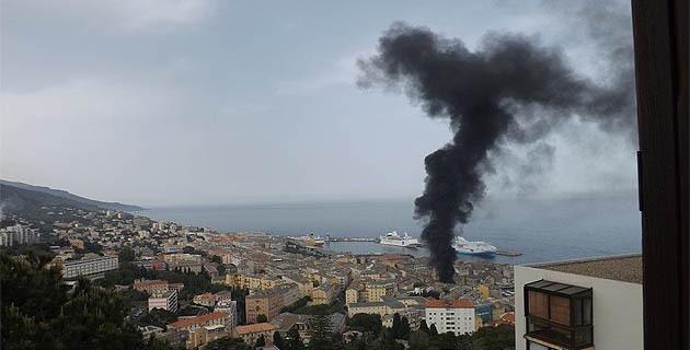 Bastia : Les conteneurs à ordure s'enflamment