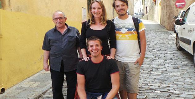 """A Cervioni en compagnie de Jacques Paoli, président de l'Adecec, les blogeurs ont visité le musée avant de faire une pause gourmande au restaurant """"U Casone"""""""