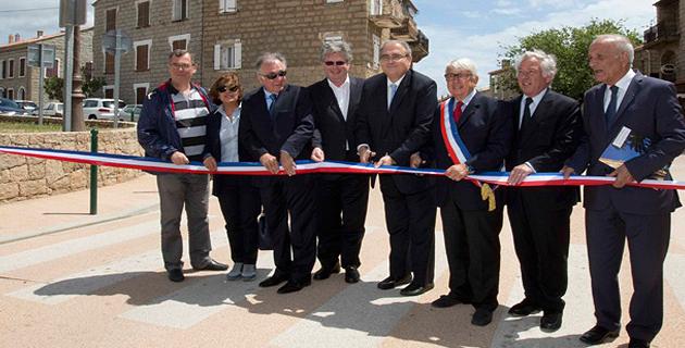 Réception des travaux d'aménagement de la traverse Pianotolli-Caldarello