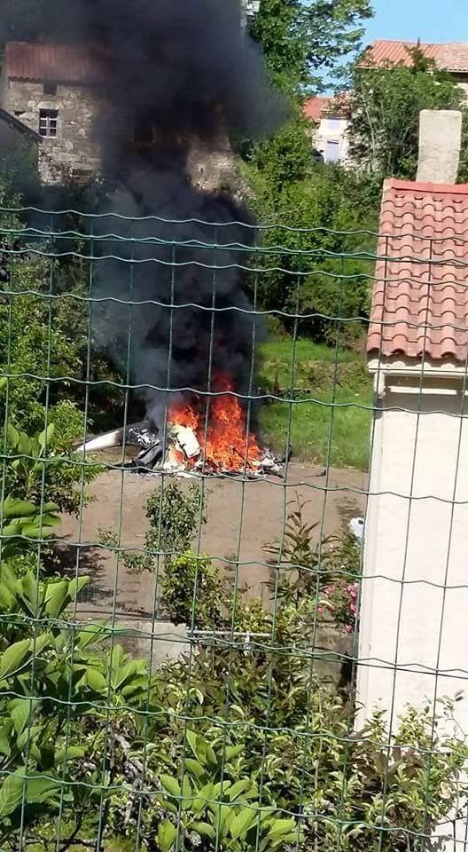 Crash d'un hélicoptère à Bocognano